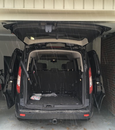 Liftgate Garage Ceiling 2015 Ford Transit Connect Wagon