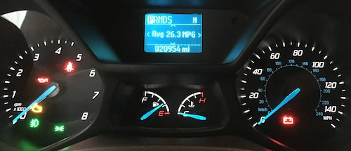 MPG 2015 Ford Transit Connect Wagon Ecoboost