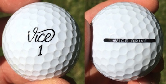 Vice Drive Golf Ball Durability