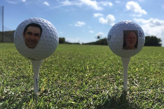 Brad Larry Vice Tour Golf Balls