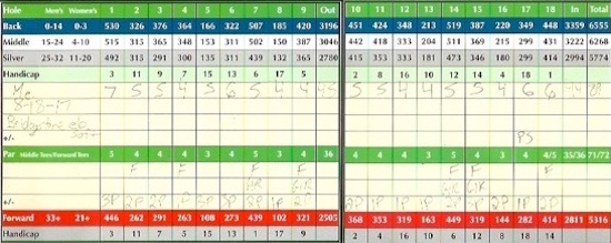 Bridgestone e6 Soft Golf Ball Score