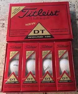 Titleist DT Wound 100 Dozen Golf Balls