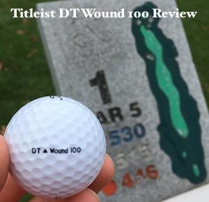 Titleist DT Wound 100 Golf Ball Review