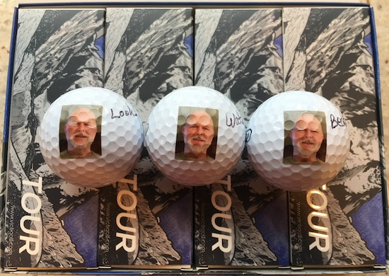 Uncle Larry Vice Tour Golf Ball