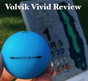 Volvik Vivid Golf Ball Review