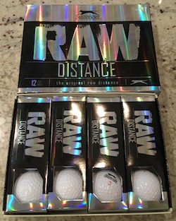 Slazenger Raw Distance Dozen Golf Balls