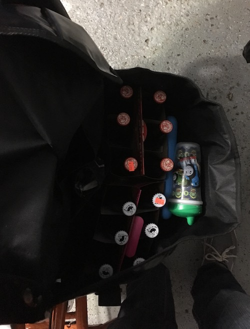 Ballard Cargo Bag 12 Pack Beers