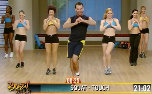 Brazil Butt Lift Bum Bum Squat Touch