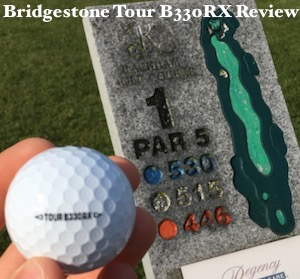 Bridgestone Tour B330RX Golf Ball Review