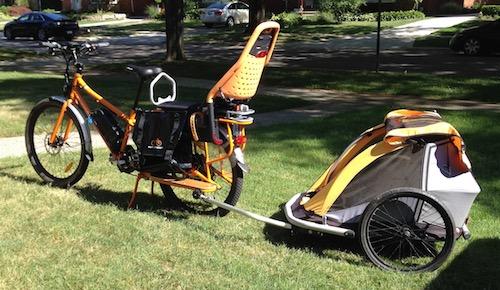 RadWagon Electric Cargo Bike With Accessories