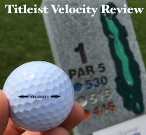 Titleist Velocity Golf Ball Review