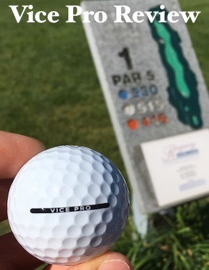 Vice Pro Golf Ball Review