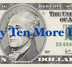 Ten Dollar Bill