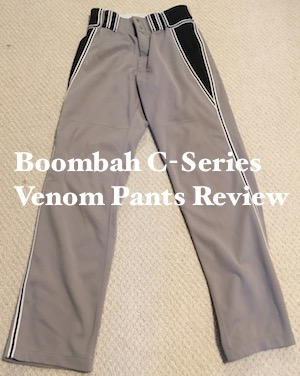 Boombah C-Series Venom Softball Pants Review
