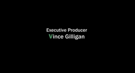 Executive Producer Vince Gilligan Breaking Bad