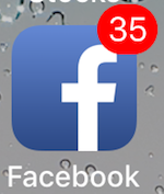 Facebook Missed Notifications iPhone