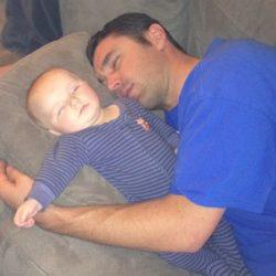 Me Max Sleeping