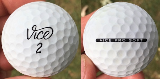 Vice Pro Soft Golf Ball Durability