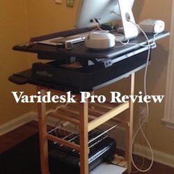 Varidesk Pro Standing Desk Review