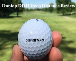 Dunlop DDH Deep Distance Golf Ball Review