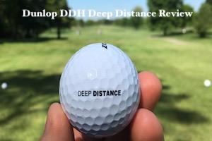 Dunlop DDH Deep Distance Golf Ball Review