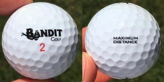 Bandit MD Golf Ball Durability