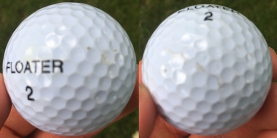 Floater Golf Ball Durability