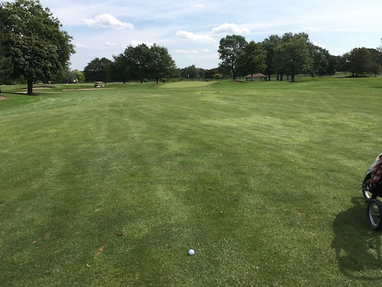 Srixon Q Star Rackham 2nd Hole Drive