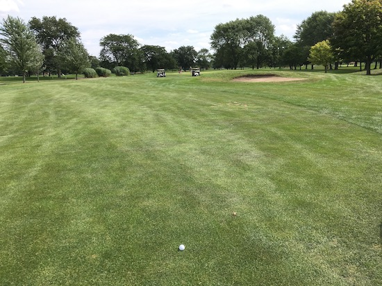 Srixon Q Star Rackham 4th Hole
