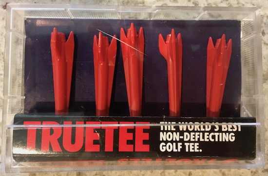 TRUETEE Non Deflecting Golf Tee