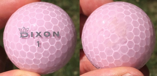Dixon Spirit Golf Ball Durability