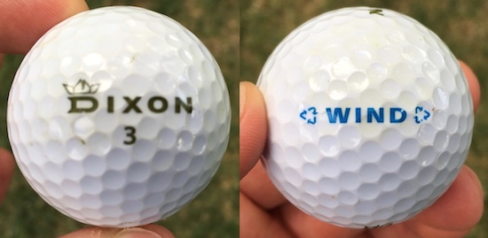 Dixon Wind Golf Ball Durability