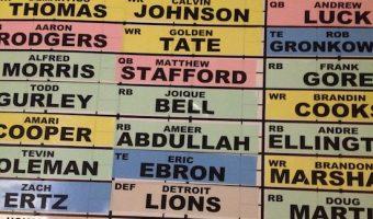 All Detroit Lions Fantasy Football Team