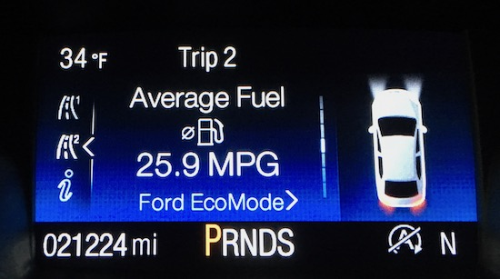 2017 Ford Escape Titanium Actual MPG