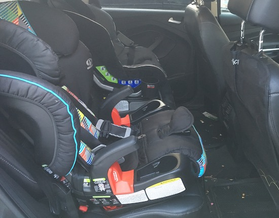 2017 Ford Escape Toddler Seats