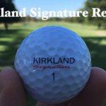 Kirkland Signature Golf Ball Review